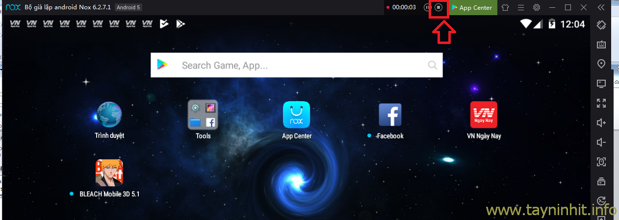 Hướng dẫn sử dụng Auto Click giả lập trên Androi Nox App